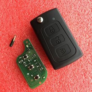 Image 1 - 3 düğmeler araba uzaktan anahtar 433Mhz ile ID48 çip büyük duvar GWM Haval H3 H5 Hover h3 h5 araba uzaktan anahtar kılıflı anahtar kılıfı
