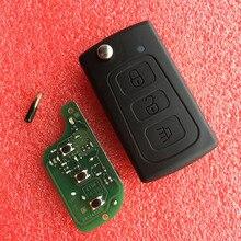 Clé télécommande à 3 boutons 433Mhz, avec puce ID48, pour Great Wall GWM Haval H3 H5 Hover h3 h5