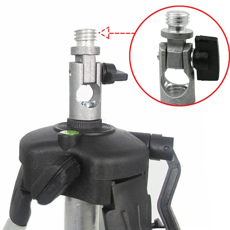 Tripod And Laser Level Adapter Angle Adjustable Rotary Joint Oblique Bracket 5/8