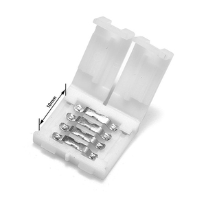 5 ~ 100 stücke 2pin 4pin led stecker Clip 8mm/10mm PCB Streifen zu Streifen für 5050 3528 3014 5630 LED einzigen farbe/RGB LED Streifen licht