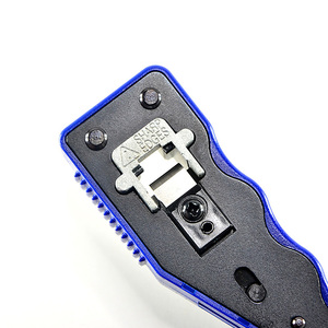 Image 5 - HY 670 8P8C RJ45 Cable Crimper Ethernet Perforated Connector Crimping Tools Multi Function Network Tools Cable Clamps