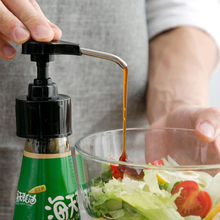 Bottle-Press Syrup Ketchup Sauce Kitchen-Accessories Push-Type-Tools Stainless-Steel