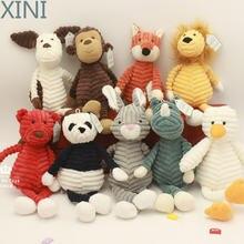 Xini детский Забавный слон лев лиса кролик свинья панда утка