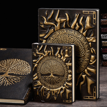 Vintage Tree of Life A5/A6 Diary Notebook Journals Handcraft Embossed Leather Diary Bible Book Travel Planner School Office Gift