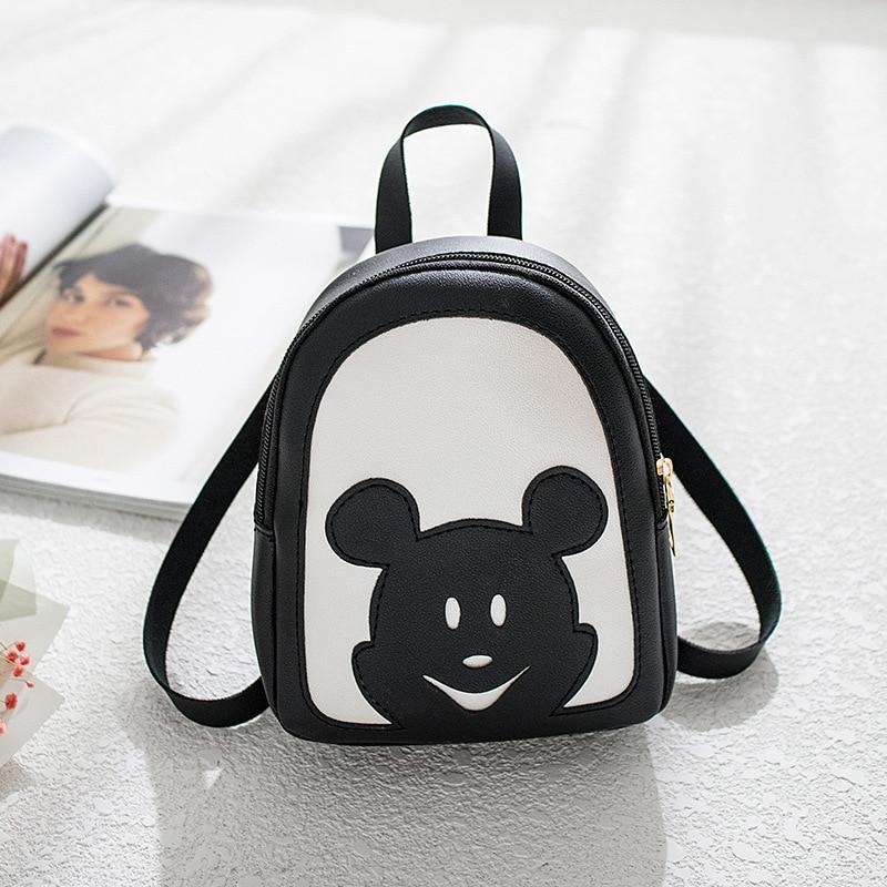 Women's Bag 2020 New Korean Printing Small Backpack Simple Wild Shoulder Bag  College Wind Backpack