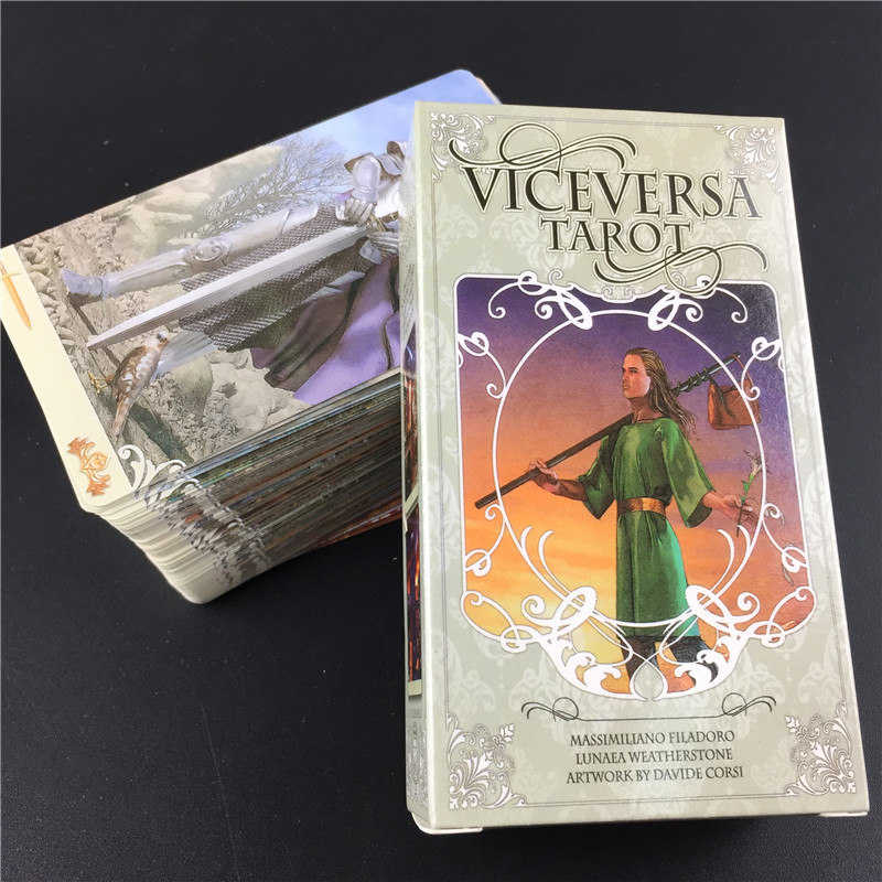Vice Versa Tarot Kit Tarot Cards Oracle Deck Board Games For Party Playing Card Table Game Entertainment