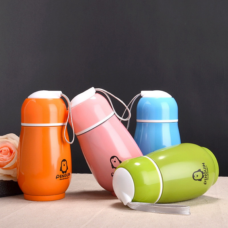 Botellas Termicas Cartoon thermo Coffee Cup For Kids Stainless Steel Thermo Mug Cute Thermal Vacuum Flask Child Travel Thermocup|Vacuum Flasks & Thermoses|   - AliExpress