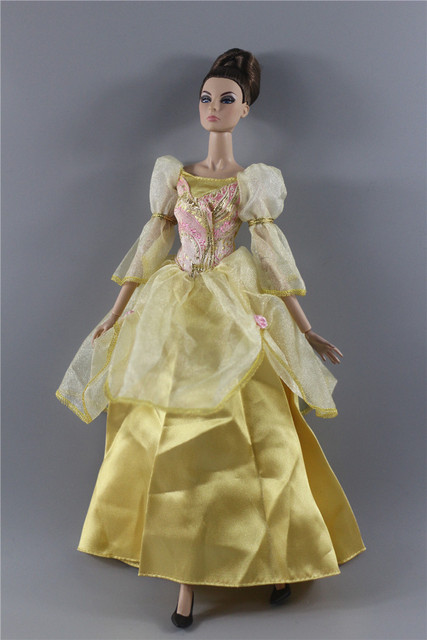 Palace Style Gown Ethnic Ancient Costume formal Dress Outfit Clothing Clothes For 1/6 BJD Xinyi Barbie FR ST Doll Gift Xmas