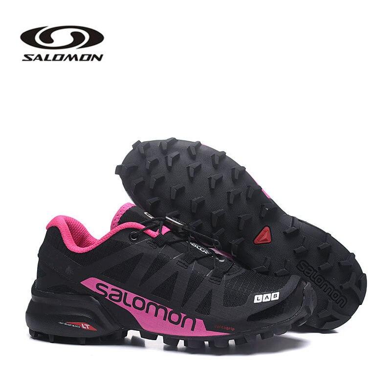 Salomon Speedcross 5 Women's Shoes Salomon Speed Cross Pro 2 Women Sneakers  Outdoor Sports Cross-Country Fencing Shoes