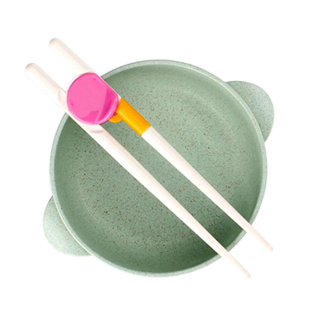 A Pair/Set Children Chopsticks Kids Baby Enlightenment Learning Training Chopsticks Easy To Use Chopsticks For Beginner