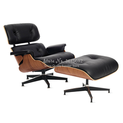 Modern  Lounge Chair chaise furniture replica lounge chair PU leather Swivel Chair Leisure for living room hotel