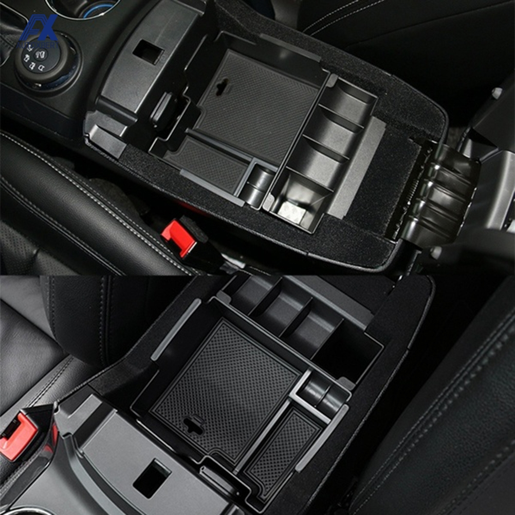 Armrest Storage Box Coin Tray Center Console Organizer Case Container For Ford Explorer 2011 2012 2013 2014 2015 2016 2017 2018