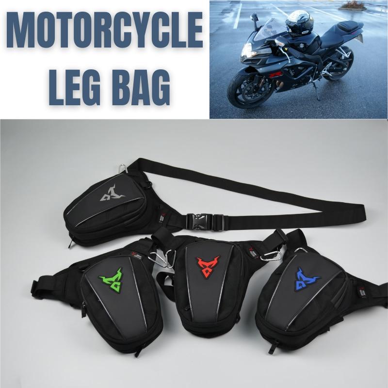 ¡Novedad de 2020! Bolso de pierna para Motocicleta, riñonera para caballero, bolso de viaje para Moto, bolso de bolsillo para exterior, bolso de Moto para hombre y mujer, Bolsa lateral
