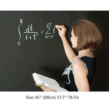 Pegatina de pizarra portátil, pizarra magnética, pegatina extraíble para pared de papel de Contacto, 17,7x78,7 pulgadas
