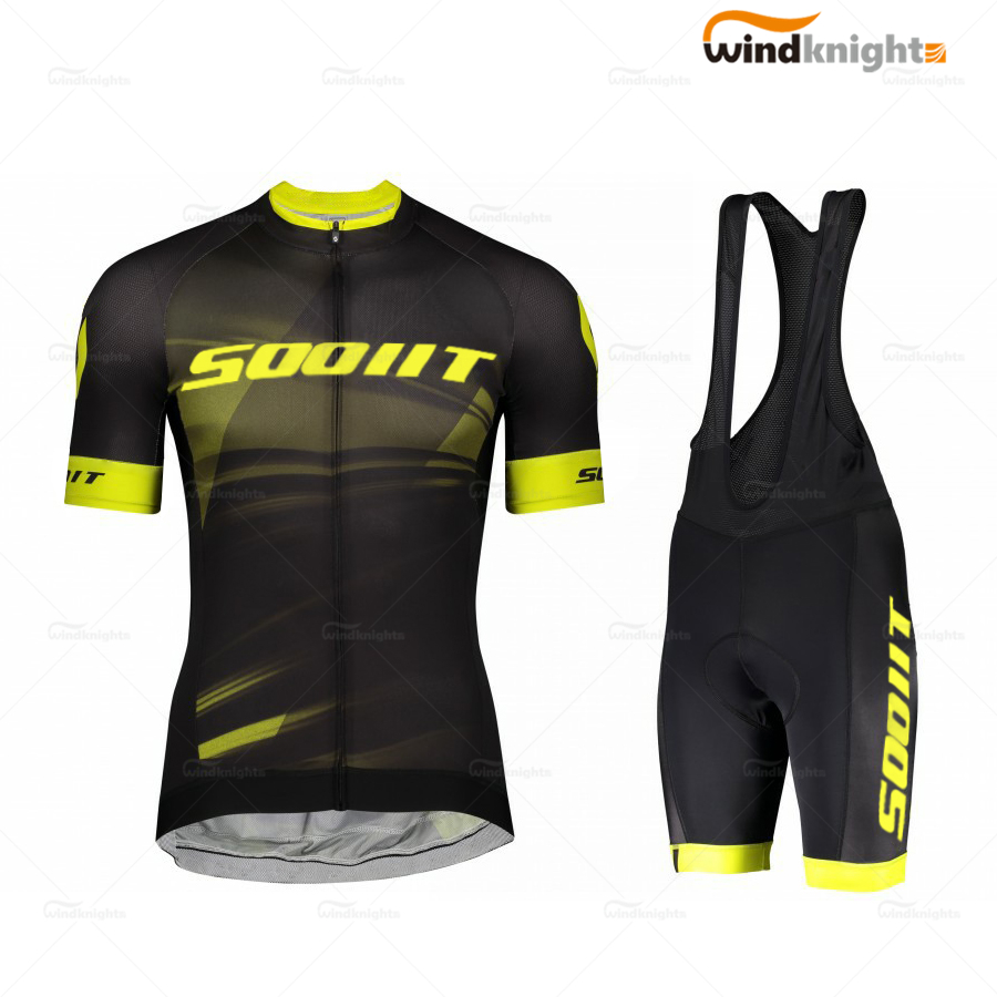 2020 Men's Short Sleeve Cycling Jersey SCott-Rc PRO Bike Clothing Set Maillot Ropa Ciclismo Summer Hombres Ropa Clothe Quick-Dry
