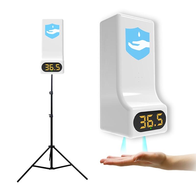 K9 автоматический раздатчик жидкого мыла, смарт-Сенсор цифровой Бесконтактный инфракрасный термометр для измерения температуры руки стира...