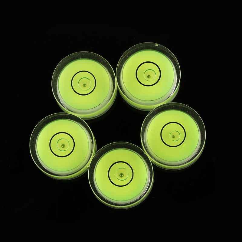 5 Pcs Ronde Waterpas Mini Waterpas Bullseye Niveau Meting Instrument L69A