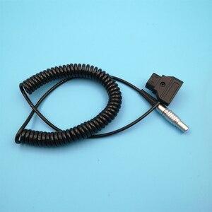 Image 4 - Teradek Bolt, Magicsky Videolink VL300 VL600, Vaxis transmisión de imagen inalámbrica en espiral Cable de alimentación 0B 2 Pin ángulo recto a d tap