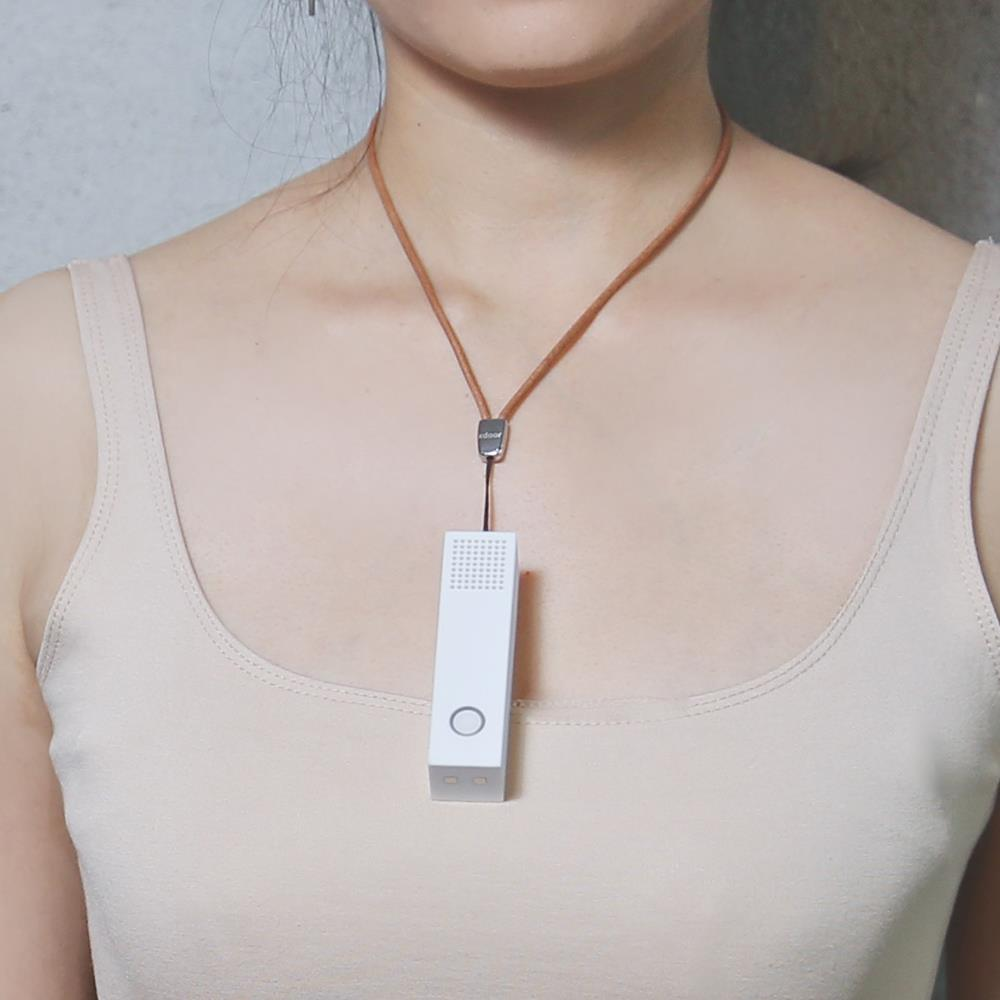 Personal Wearable Air Purifier Necklace Mini Portable Air Freshener Lonizer Negative Ion Generator Mini Purifiers
