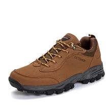 Outdoor Waterproof Hiking Shoes Men Comfortable Men's Mountain Climbing Trekking