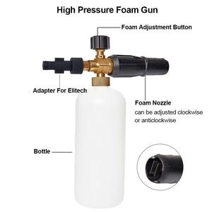 Image 2 - Lance à haute pression de mousse de neige de rondelle de voiture 1L pour le pistolet à mousse de canon de mousse de savon de série de Nilfisk Gerni