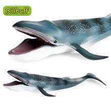 Экшн фигурка большого размера из АБС пластика голубой кит Акула