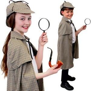 RAGAZZI LIBRO SETTIMANA Sherlock Detective Costume