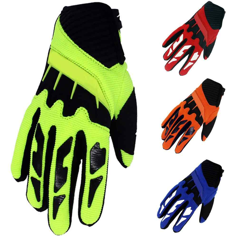 Kids Bike Gloves Mountain 1 Pair Cycling Half Finger Riding Childrens Small Size