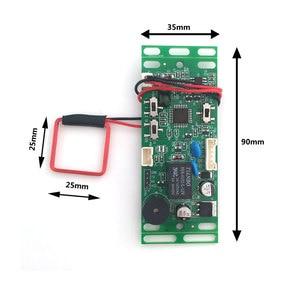 Image 3 - RFID EM/ID Embedded Door Access Control intercom access control lift control with 2pcs mother card 10pcs em key fob min:1pcs