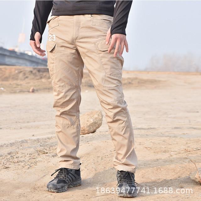 Men Tactical Clothing Cargo Pants Overalls Men's Pants Outdoor Quick Dry Waterproof Trousers for men Military Pants Workwear 4