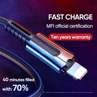 Joyroom USB C to Lightning iPhone XR 11 용 고속 충전 케이블 Pro Max 7 8 Plus 충전 USB 케이블 PD 충전기 USB C 코드