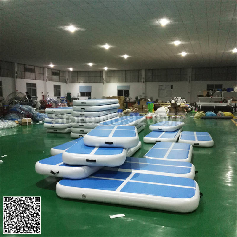 Free Shipping  2*1*0.2m Inflatable Gym Mat Trampoline Inflatable Air Track Inflatable Air Mat Children Trampoline