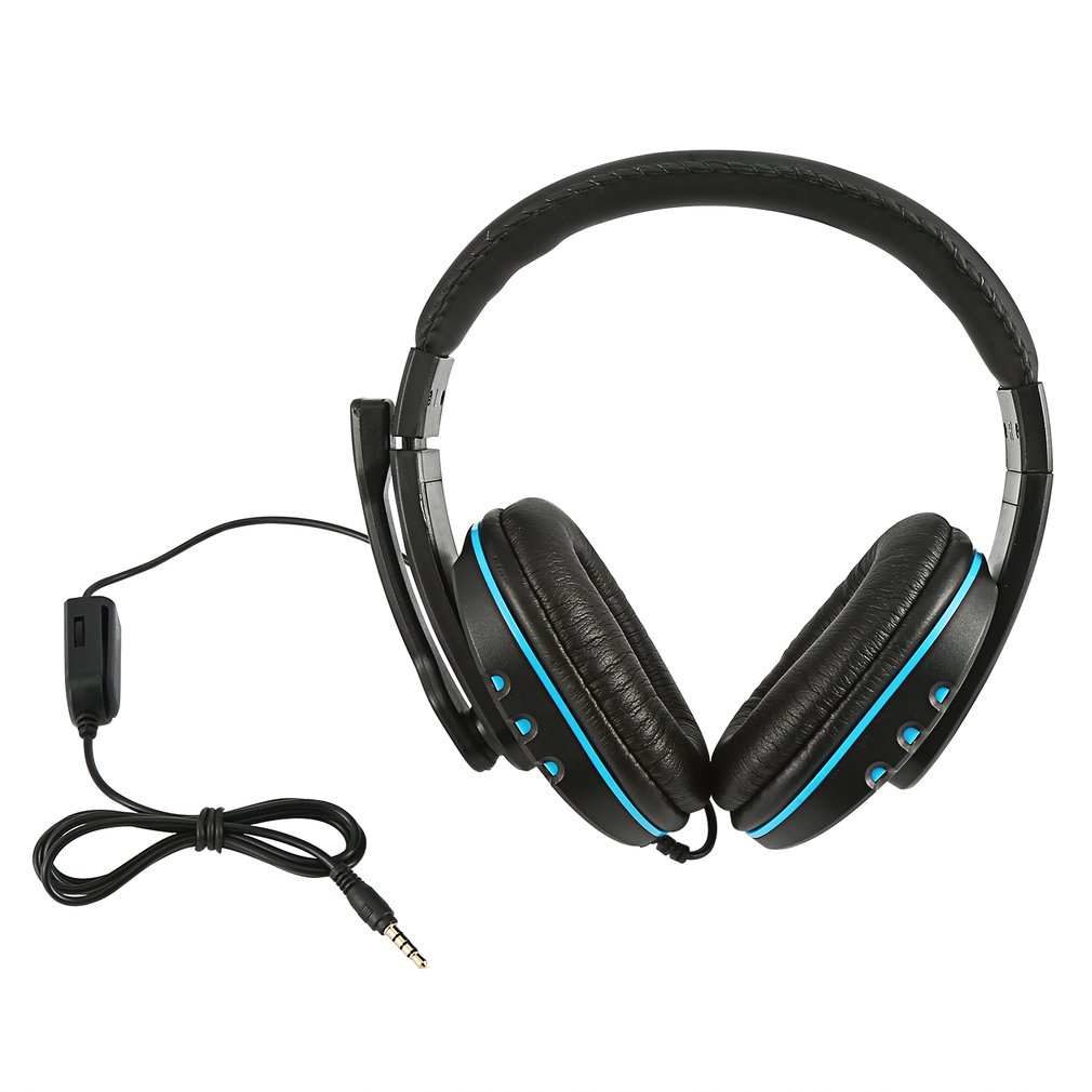 Creative Fashion Gaming Headset Stereo Surround Headphone 3.5Mm Wired Mic For Ps4 Laptop Xbox One Headphone