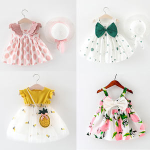 Комплект из 2 предметов для малышей; Платье принцессы для девочек; Одежда без рукавов по всему изделию; Платье без рукавов для маленьких дево...
