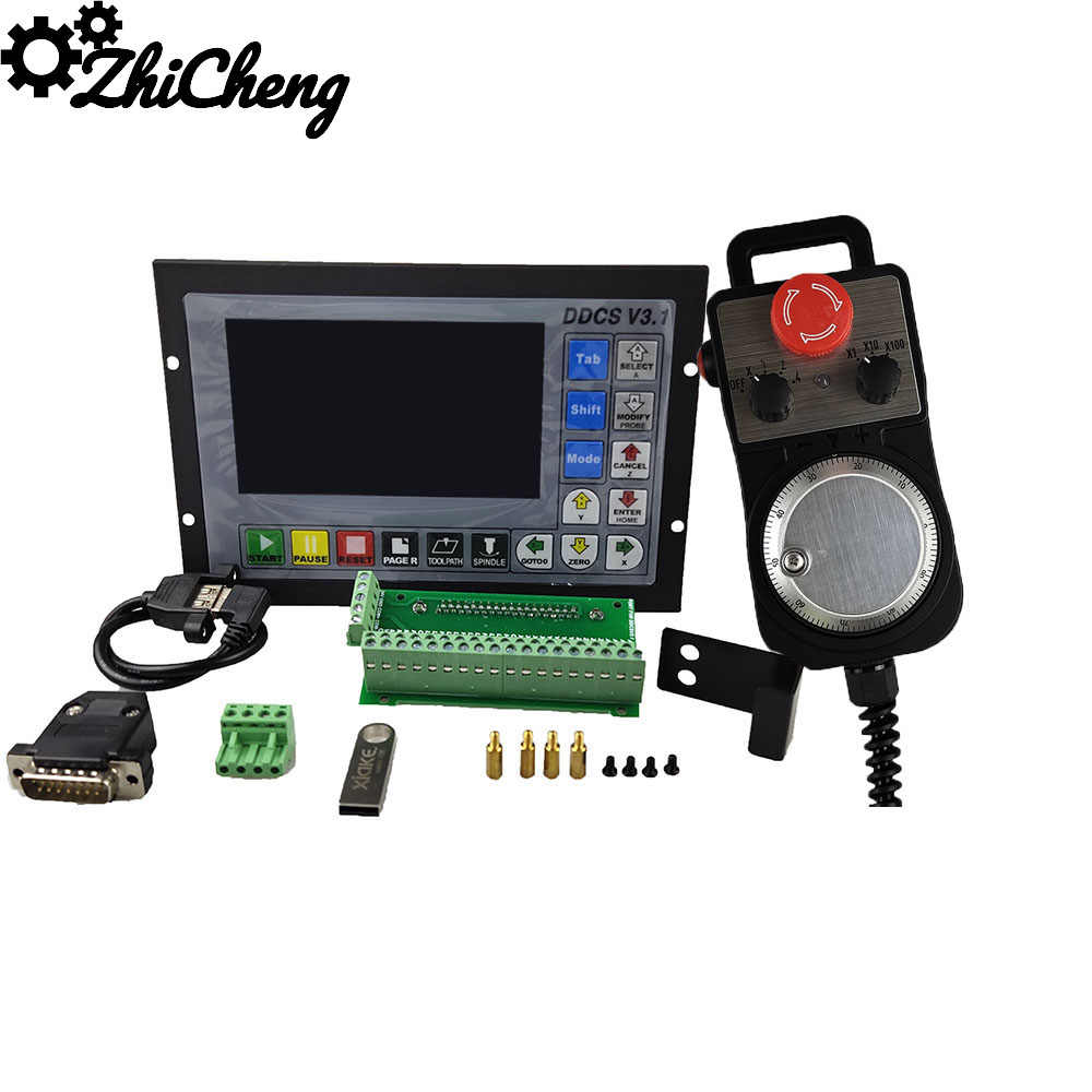 De : 4 Axis offline Motion Controller CNC Engraving Control System G Code ddcsv 3.1