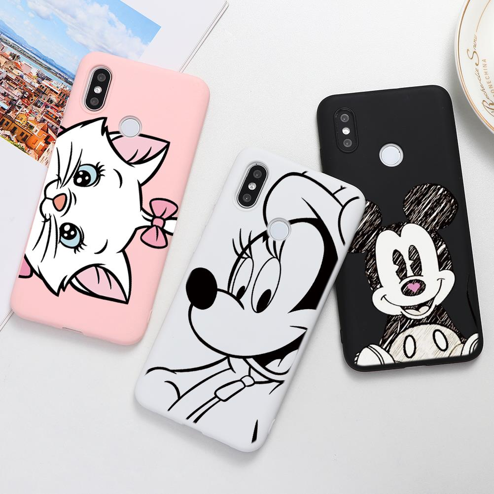 Cartoon Cute Soft TPU Cases For <font><b>Xiaomi</b></font> Redmi <font><b>Mi</b></font> A3 Note 8 10 7 6 8T 9 K20 Pro CC9e CC9 F1 A1 <font><b>A2</b></font> 5X 6X S2 8A 6A 7A Plus Lite Case image