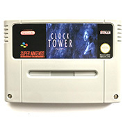 Clock Tower with box for pal console 16bit  game cartidge 2
