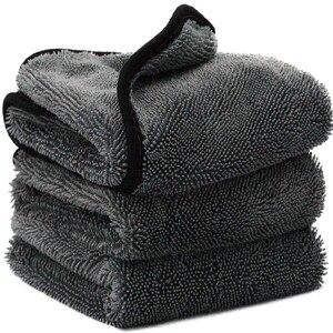 Image 1 - Mikrofibra twistcar ręcznik do mycia profesjonalne ściereczki do czyszczenia osuszania samochodowe ręczniki do mycia samochodów polerowanie woskowanie Detailing