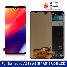 Amoled do Samsung Galaxy A515 wyświetlacz LCD A51 A515F ekran dotykowy Digitizer do samsung A515FD A515F DS części zamienne tanie tanio MSMADE NONE CN (pochodzenie) Pojemnościowy ekran 3 For Samsung Galaxy A51 A515 A515F LCD LCD i ekran dotykowy Digitizer