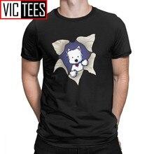 Camiseta de Westie Blast para hombre, camisa de West Highland White Terrier Dog, 100% de algodón, ropa al por mayor, novedad