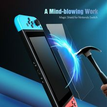 Glass-Screen-Protector Switch-Accessories Tempered-Film Nintend-Switch 9H