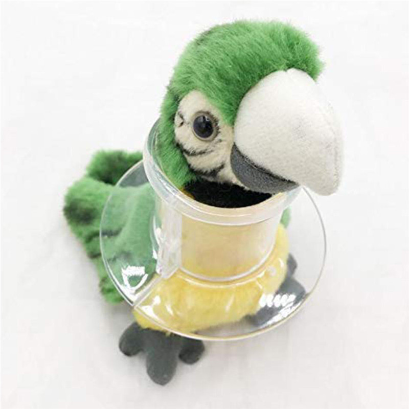 Transparent Color Bird Protection Collar Parrot Anti-Bite Feather Bird Collar Anti-Feather Picking Ring Pet Supplies