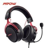 Mpow-auriculares con cable Air SE para videojuegos, cascos sonido envolvente 3D con micrófono de cancelación de ruido para PS4, PS5, Xbox One Switch