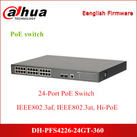 Dahua PoE switches DH PFS4226 24GT 360 24 Port PoE Gigabit Managed Switch Support PoE PoE+ Hi PoE for Security CCTV IP System