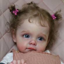 Bebe Reborn Kit Realistische Maggi En Sue-Sue 23 Inches Echt Baby Vinyl Body Gentle Touch Ongemonteerd Blank Onderdelen diy Voor Meisjes