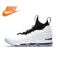 NIKE LEBRON XV EP New Arrival Authentic Men Basketball Shoes Comfortable Breathable SportS Outdoor Sneakers AQ2364 100