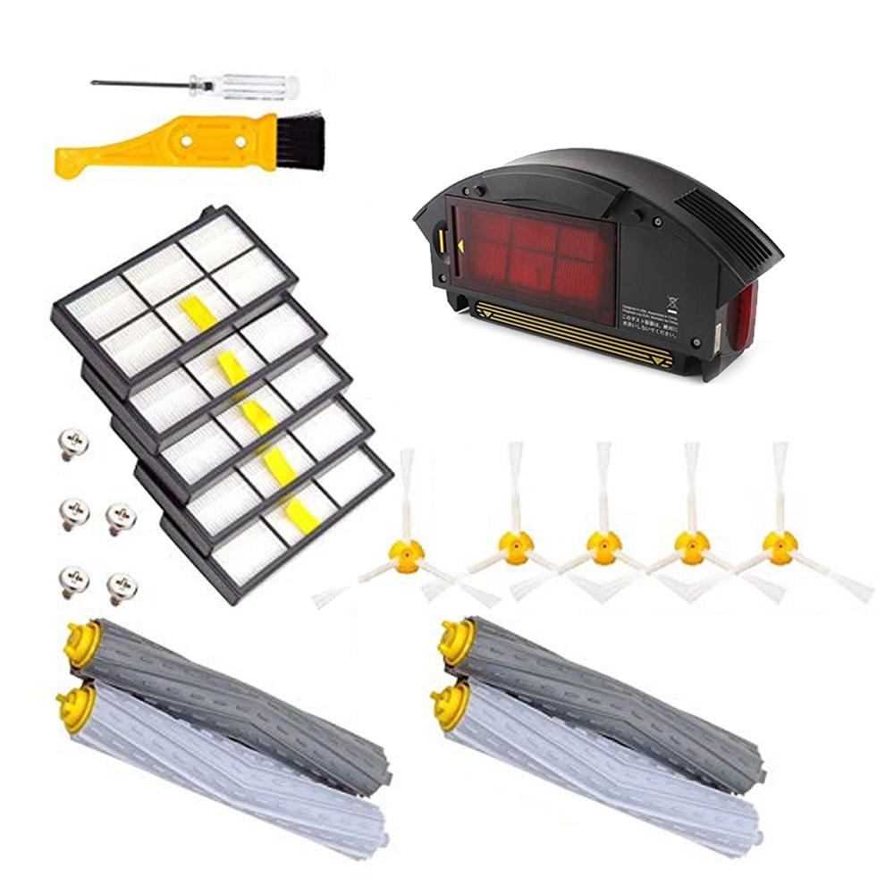 Для iRobot Roomba 800 900 фильтры коробка для пыли боковые щетки щетка для очистки - 4