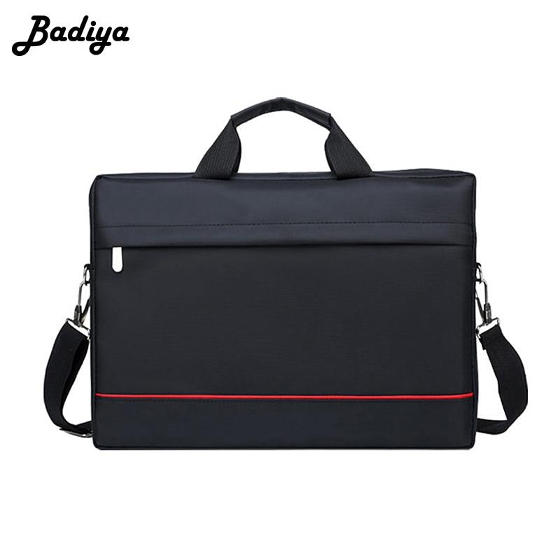 Wasserdicht Laptop Handtasche Männer Schulter Messenger Tasche Notebook Fall Abdeckung Computer Aktentasche für Reise Männlichen Crossbody-tasche