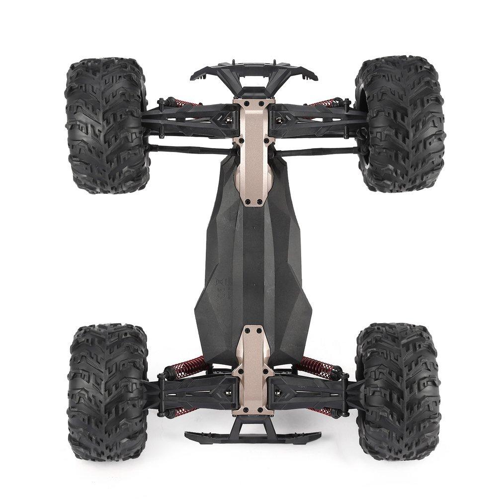Высокое качество 9125 4WD 1/10 высокая скорость 46 км/ч Электрический сверхзвуковой грузовик Внедорожник Багги RC гоночный автомобиль электронные игрушки РТР - 5