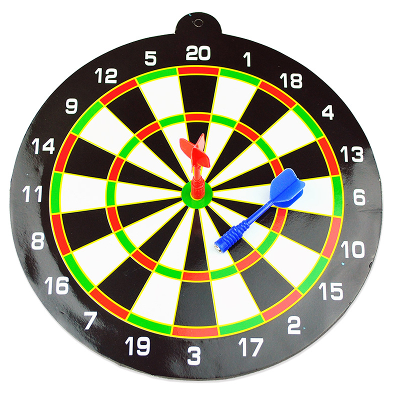 Magnetic Dart Board Toy Children Safe Shooting Educational Toy Send Two Pieces Dart Plate Large Size Wholesale